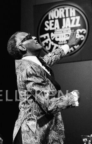 Ray Charles by Frans Schellekens op North-Sea Jazz